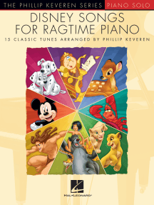 Disney Songs for Ragtime Piano: The Phillip Keveren Series