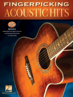 Fingerpicking Acoustic Hits: 15 Songs Arranged for Solo Guitar in Standard Notation & Tab