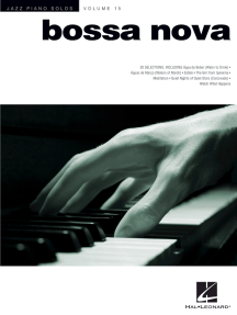 Bossa Nova: Jazz Piano Solos Series Volume 15