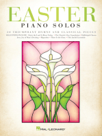 Easter Piano Solos: 30 Triumphant Hymns and Classical Pieces