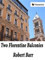 Two Florentine Balconies