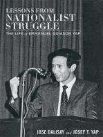 Lessons from Nationalist Struggle: Life of Emmanuel Quiason Yap