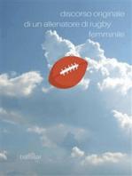 discorso originale di un allenatore di Rugby femminile