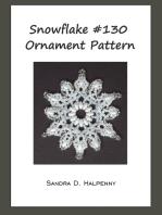 Snowflake #130 Ornament Pattern