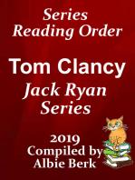 Tom Clancy's Jack Ryan Series Reading Order Updated 2019