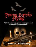 Young Hawks Flying