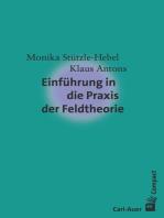Einführung in die Praxis der Feldtheorie