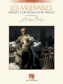 Les Misérables Medley for Violin and Piano: As Performed by Lindsey Stirling