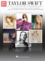 Taylor Swift - Easy Guitar Anthology