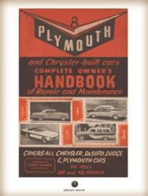 Plymouth and Chrysler-built cars Complete Owner's Handbook of Repair and Maintenance