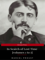 In Search of Lost Time [volumes 1 to 7] (XVII Classics) (The Greatest Writers of All Time)