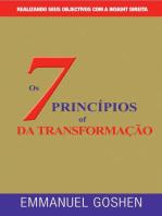 OS SETE PRINCÍPIOS DA TRANSFORMAÇÃO