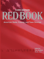 Red Book, 3rd edition: American State, County, and Town Sources; Third Edition