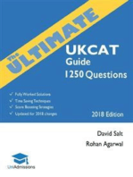 The Ultimate UKCAT Guide: 1250 Practice Questions