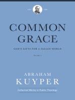 Common Grace (Volume 1)