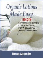 Organic Lotions Made Easy