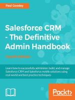 Salesforce CRM - The Definitive Admin Handbook - Fourth Edition
