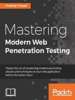 Mastering Modern Web Penetration Testing