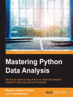 Mastering Python Data Analysis