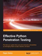Effective Python Penetration Testing