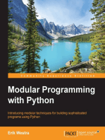 Modular Programming with Python