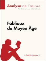 Fabliaux du Moyen Âge (Analyse de l'œuvre)