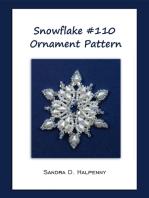 Snowflake #110 Ornament Pattern