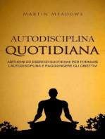 Autodisciplina quotidiana