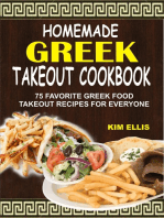 Homemade Greek Takeout Cookbook