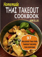 Homemade Thai Takeout Cookbook