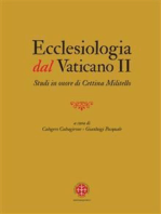 Ecclesiologia Dal Vaticano II