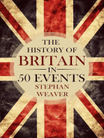 The History of Britain in 50 Events