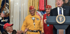 Trump Brings Up 'Pocahontas' At Event Honoring Navajo Code Talkers