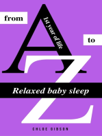 Relaxed baby sleep from A to Z