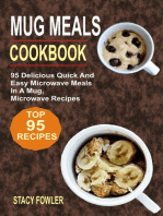 Mug Meals Cookbook