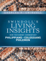 Insights on Philippians, Colossians, Philemon