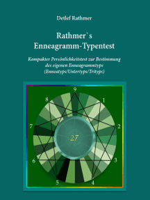 Rathmer's Enneagramm-Typentest: Kompakter Persönlichkeitstest zur Bestimmung des Enneagrammtyps (Enneatyps, Untertyps, Trityps)