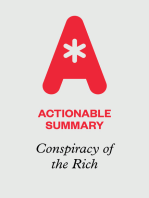 Actionable Summary of Conspiracy of the Rich by Robert Kiyosaki