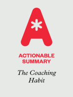 Actionable Summary of The Coaching Habit by Michael Bungay Stanier