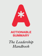 Actionable Summary of The Leadership Handbook by John C. Maxwell