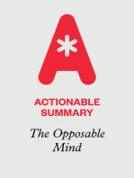 Actionable Summary of The Opposable Mind by Roger Martin