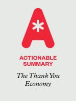 Actionable Summary of The Thank You Economy by Gary Vaynerchuk