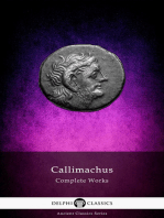 Delphi Complete Works of Callimachus (Illustrated)