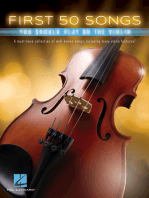 First 50 Songs You Should Play on the Violin