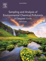 Sampling and Analysis of Environmental Chemical Pollutants