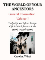 The World of Your Ancestors - General Information - Volume 1