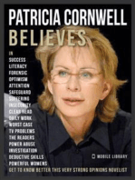 Patricia Cornwell Believes - Patricia Cornwell Quotes And Believes: Discover the master of American crime writers