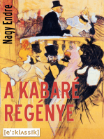 A kabaré regénye