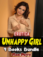 Erotica Unhappy Girl 4 Books Bundle