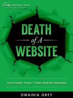 Death of A Website